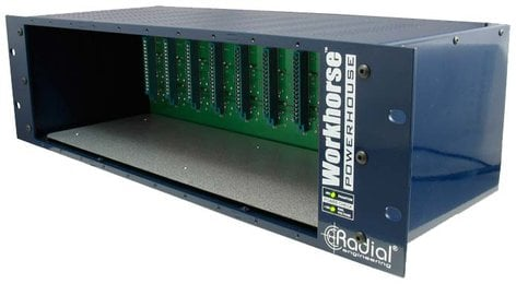 Radial Engineering Powerhouse 500 Series 10-Slot Rackmount Chassis POWERHOUSE