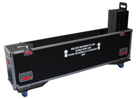 "Gator G-TOUR-LCDV2-6065-X2 ATA Case for Two 60""-65"" Flat Panel Screens G-TOUR-LCDV2-6065-X2"