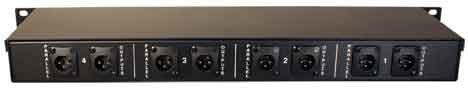 RapcoHorizon Music MC-4 4-Channel Rackmount Microphone Level Signal Combiner MC4-RAPCO