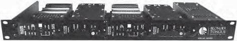 Blonder-Tongue MIRC-4D  Modular Headend System Chassis and Power Supply MIRC-4D
