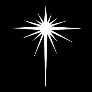 Apollo Design Technology MS-3289 Steel Gobo, Bethlehem Star MS-3289