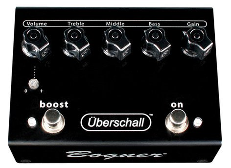 Bogner UBERSCHALL Overdrive Guitar Pedal UBERSCHALL-BOGNER