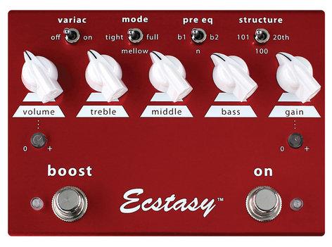Bogner ECSTASY-RED Overdrive Guitar Pedal ECSTASY-RED