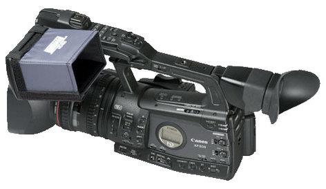 "Hoodman Corporation HD-450  4"" Widescreen Hood for Canon XF Series HD-450"