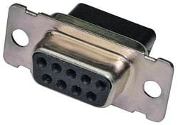 BTX Technologies CD-9809S  9-Pin(f) Crimp-Style D-Sub Connector CD-9809S