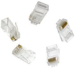 Liberty AV Solutions 10005USOP  Pack of (100) RJ45 Cat5e Clear Connectors 10005USOP