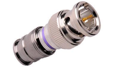 Liberty AV Solutions CM-RG6M-BNC  Pack of (25) BNC Plugs for RG6 Cable CM-RG6M-BNC