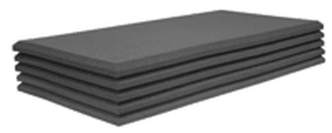 """Auralex 15SFP48CHA 2'x4' of 1-1/2"""" StudioFoam Pro, Charcoal (10 ct.) 15SFP48CHA"""