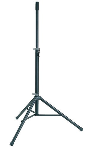 K&M Stands 21450  Black Speaker Stand 21450