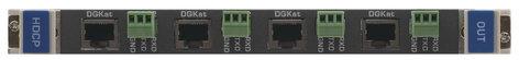 Kramer DGKat-OUT4-F32 4-Output HDMI & RS-232 Input over DGKat Card (F-32) for VS-3232DN DGKAT-OUT4-F32