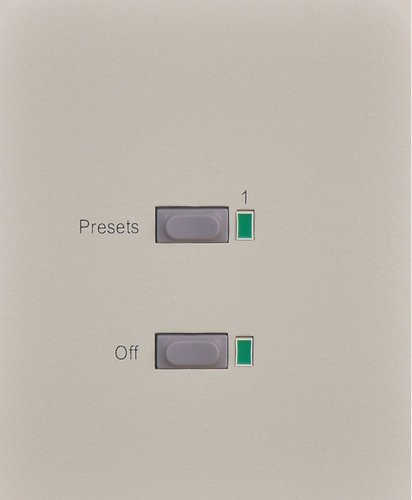 Leprecon APC-1 1-Button Wall Panel with Off Button 90-03-6151