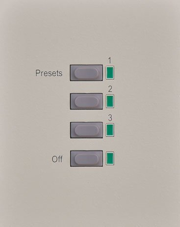 Leprecon APC-3 3-Button Wall Panel with Off Button 90-03-6152