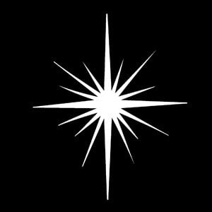 Apollo Design Technology MS-3280 Steel Gobo, Christmas Star MS-3280