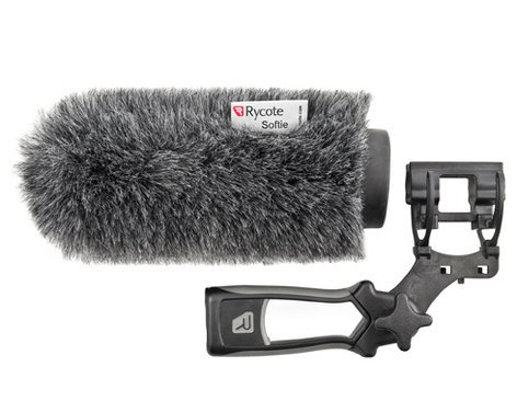 Rycote 033342 14cm Softie Kit with Mount and Pistol Grip 033342