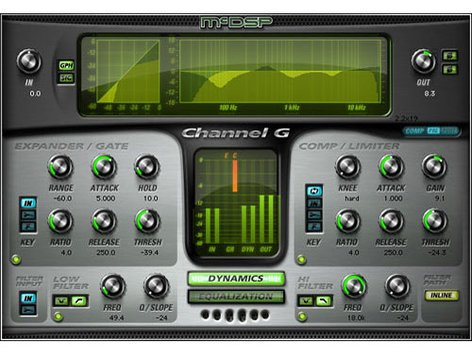 McDSP Channel G Native Channel Strip Plug-In CHANNEL-G-NATIVE
