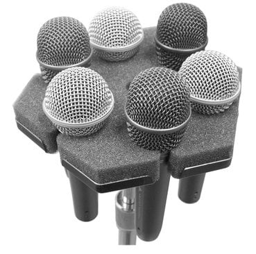 Ace Backstage Softpod Soft Microphone Holder Full