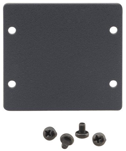 Kramer W-2BLANK  Wall Plate Insert - Double Blank Slot Cover Plate W-2BLANK