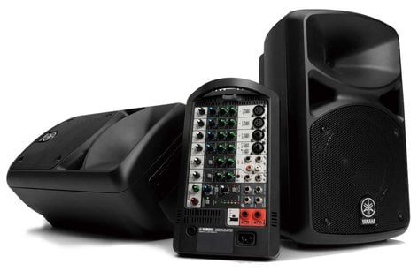 Yamaha STAGEPAS 400i 400 Watt Portable PA System STAGEPAS-400I-CA