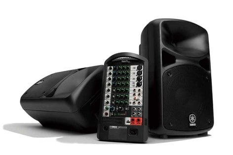 Yamaha STAGEPAS 600i 680 Watt All-In-One Portable PA System with 10-Channel Mixer STAGEPAS-600I-CA