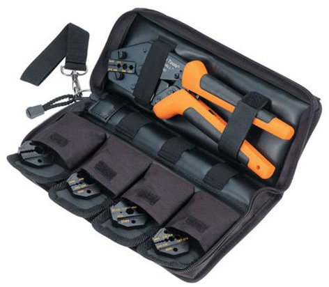Paladin Tools PA4802 6-Piece Crimp All Broadcast Pack PA4802