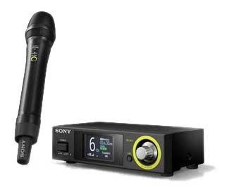 Sony DWZM70 Handheld Wireless System for Vocals & Speech, 2.4 gHz frequency band DWZM70