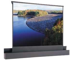 "Da-Lite 84776  78"" x 139"" Ascender Electrol Electric Projection Screen, Matte White 84776"