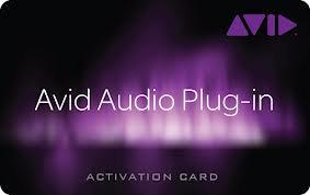 Avid 9900-65437-00 Tier 1 Plug-In Activation Card 9900-65437-00