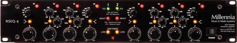 Millennia Media Inc NSEQ-4 Two Channel Class A Discrete Solid State Parametric Equalizer NSEQ4