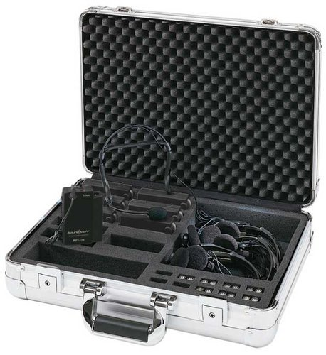 Telex SMP-2 Hard of Hearing System with 6 Receivers SMP-2