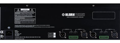 Klark Teknik DN370 Dual Channel 1/3 Octave Graphic Equalizer DN370