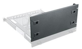Middle Atlantic Products SS-VTR-CVR4  4 RU Black VTR Shelf Cover SS-VTR-CVR4