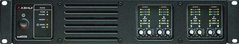 Ashly ne8250.70pe 8 Channel 70V Power Amplifier with DSP NE8250.70PE