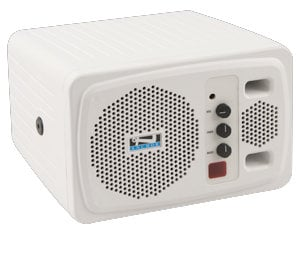 Anchor AN130F1RC+ Speaker with Receiver & Remote, White AN130U1RC+