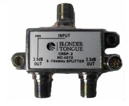 Blonder-Tongue CRSP-2  2-Way 5-750MHz Splitter CRSP-2