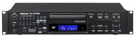 Tascam CD-200SB Rackmount CD Player with SD and USB CD200SB