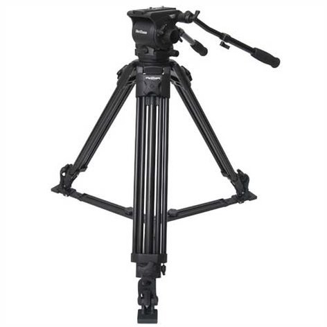 Varizoom VZTK100A Aluminum Tripod and 100MM Head System with Spreader and Case VZ-TK100A