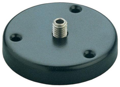 K&M Stands 22140-300-55 221 d Black Table Flange 221D