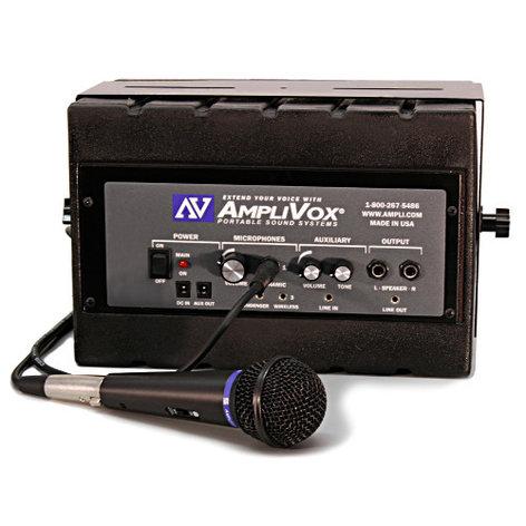 AmpliVox SS1230 Mity Box Active Speaker SS1230