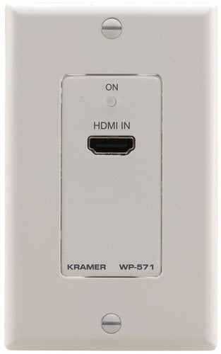Kramer WP-571 Active Wall Plate - HDMI over DGKat Twisted Pair Transmitter WP-571