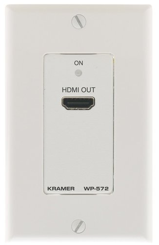 Kramer WP-572  Active Wall Plate - HDMI over Twisted Pair Receiver WP-572