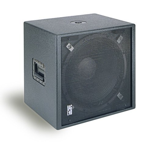 "Bag End S18E-R 18"" Passive Subwoofer with Stand Adapter in RO-TEX Finish S18E-R"