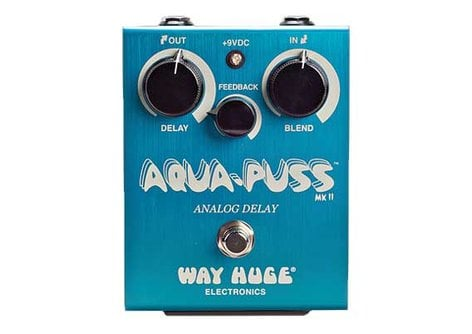 Way Huge ECHO-PUSS  Analog Delay Pedal  ECHO-PUSS
