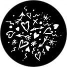 Rosco Laboratories 78126 Love Gobo 78126-ROSCO