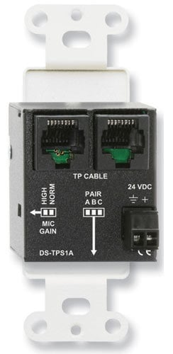 Radio Design Labs D-TPS1A Active Single Pair Sender with XLR Microphone Input with Phantom Power D-TPS1A