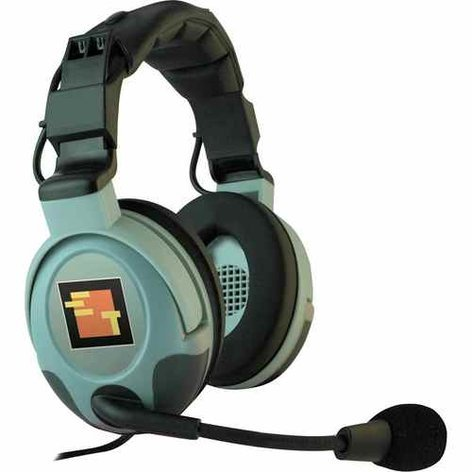 Eartec Co MX3GD Max 3G Dual Ear Headset with Mute Button MX3GD