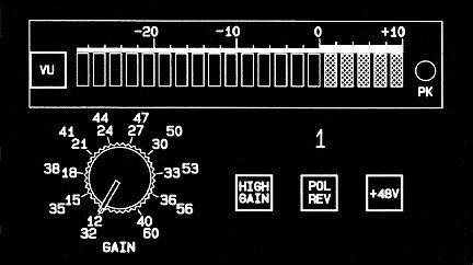 John Hardy Company M-1 1-Channel Microphone Preamplifier M-1-1CH