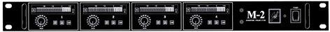 John Hardy Company M-2 4-Channel 4-Channel Microphone Preamplifier M-2-4CH