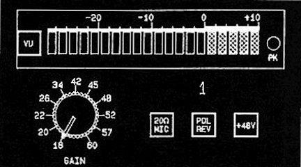 John Hardy Company Twin Servo 990 2-CH 2-Channel Microphone Preamplifier 990-2CH