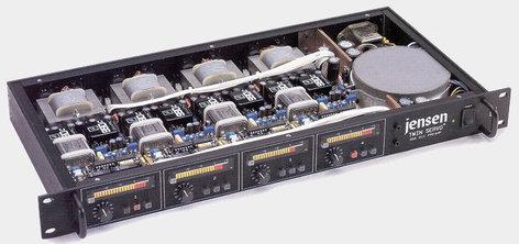 John Hardy Company Twin Servo 990 1-CH 1-Channel Microphone Preamplifier 990-1CH