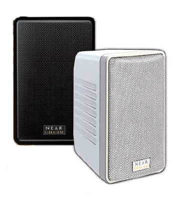 """Bogen Communications S4TW  4.5"""" 8 ohm Speaker, White  S4TW"""